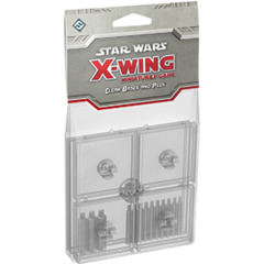 Star Wars X-Wing - Clear Bases and Pegs