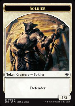 Soldier Token (003)