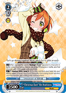 Christmas Date Rin Hoshizora - LL/EN-W02-E138 - U