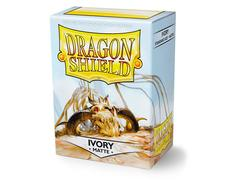 Dragon Shield Sleeves: Standard Matte Ivory (Box of 100)