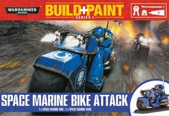 Warhammer 40,000 - Build and Paint - Space Marine Bike Attack