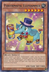 Performapal Elephammer - MP16-EN002 - Rare - 1st Edition