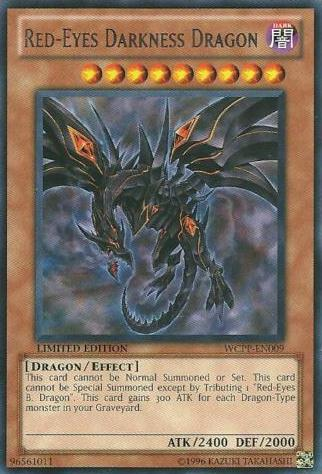 Red-Eyes Darkness Dragon - WCPP-EN009 - Rare - Promo Edition