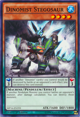 Dinomist Stegosaur - MP16-EN193 - Common - 1st Edition