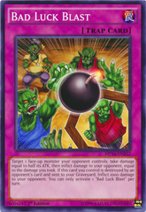 Bad Luck Blast - MP16-EN232 - Common - 1st Edition