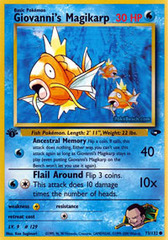 Giovanni's Magikarp - 73/132 - Common - 1st Edition on Channel Fireball