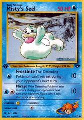 Misty's Seel - 91/132 - Common - 1st Edition