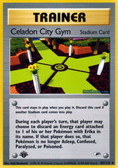Celadon City Gym - 107/132 - Uncommon - 1st Edition on Channel Fireball