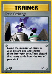 Trash Exchange - 126/132 - Common - 1st Edition on Channel Fireball