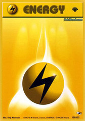 Lightning Energy - 130/132 - Common - 1st Edition
