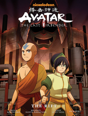 Avatar: The Last Airbender - The Rift Library Edition Hardcover
