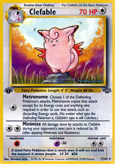 Clefable - 17/64 - Rare - 1st Edition on Channel Fireball