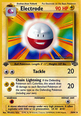 Electrode - 18/64 - Rare - 1st Edition on Channel Fireball
