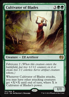 Cultivator of Blades - Foil