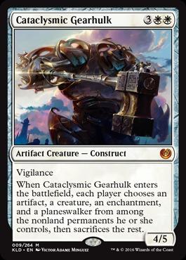 Cataclysmic Gearhulk - Foil