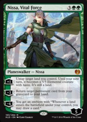 Nissa, Vital Force on Channel Fireball