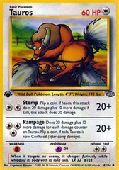 Tauros - 47/64 - Uncommon - 1st Edition on Channel Fireball