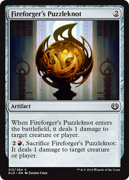 Fireforgers Puzzleknot - Foil