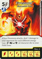 Firestorm - Elemental Fury (Die & Card Combo)