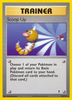 Scoop Up - 104/110 - Rare