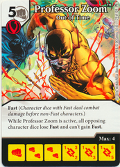Professor Zoom - Out of Time (Die & Card Combo)