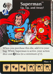 Superman - Up Up and Away (Die & Card Combo)