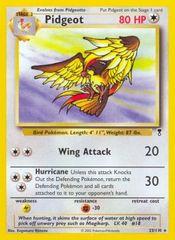 Pokemon Cards PIDGEOT 29//102 HGSS TRIUMPHANT RARE EX