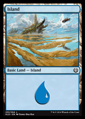 Island - Foil (253)(KLD)