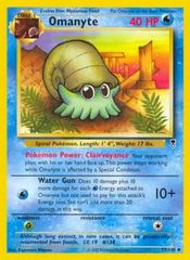 Omanyte - 57/110 - Uncommon on Channel Fireball