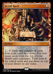 Scroll Rack (Masterpiece Foil)