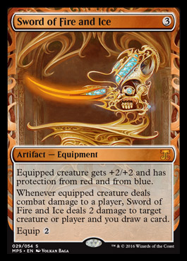 Sword of Fire and Ice - Foil