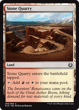 Stone Quarry (Kaladesh) - Planeswalker Deck Exclusive