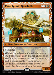 Cataclysmic Gearhulk - Foil on Channel Fireball
