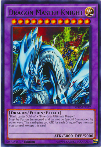Dragon Master Knight - DPRP-EN012 - Rare - 1st Edition