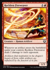 Reckless Fireweaver - Foil
