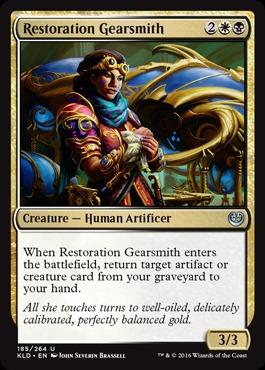 Restoration Gearsmith - Foil