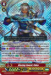 Blazing Sword, Fides - G-BT08/003EN - RRR on Channel Fireball