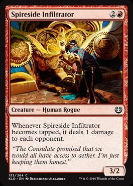 Spireside Infiltrator - Foil