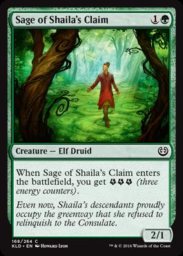 Sage of Shailas Claim
