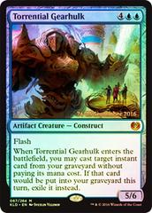 Torrential Gearhulk - Foil - Prerelease Promo
