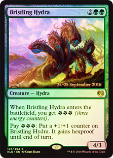 Bristling Hydra (Kaladesh Prerelease Foil)