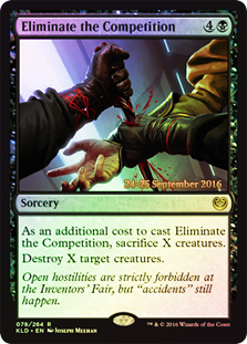 Eliminate the Competition - Foil - Prerelease Promo