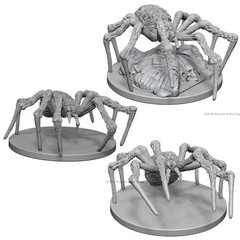 Nolzur's Marvelous Unpainted Miniatures - Spiders