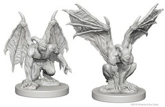 Nolzur's Marvelous Unpainted Miniatures - Gargoyles