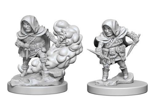 Nolzur's Marvelous Unpainted Miniatures - Halfling Rogue