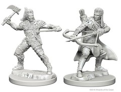 Nolzur's Marvelous Unpainted Miniatures - Human Ranger (Male)
