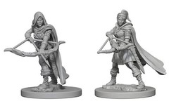 Nolzur's Marvelous Unpainted Miniatures - Human Ranger (Female)