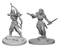 Nolzur's Marvelous Unpainted Miniatures - Elf Ranger (Female)
