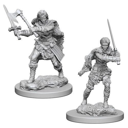 Nolzurs Marvelous Miniatures - Human Barbarian (Female)