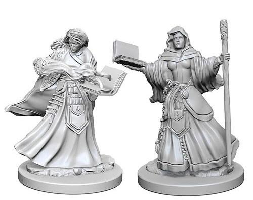 Nolzurs Marvelous Miniatures - Human Wizard (Female)